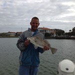 Captain Brian knows where the Port Aransas fish are!