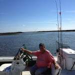 Just another day of fishing in Port Aransas